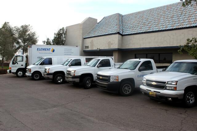 Element Restoration Trucks for Restoration Services