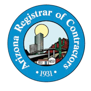 Logo of Arizona Registrar of Contractors